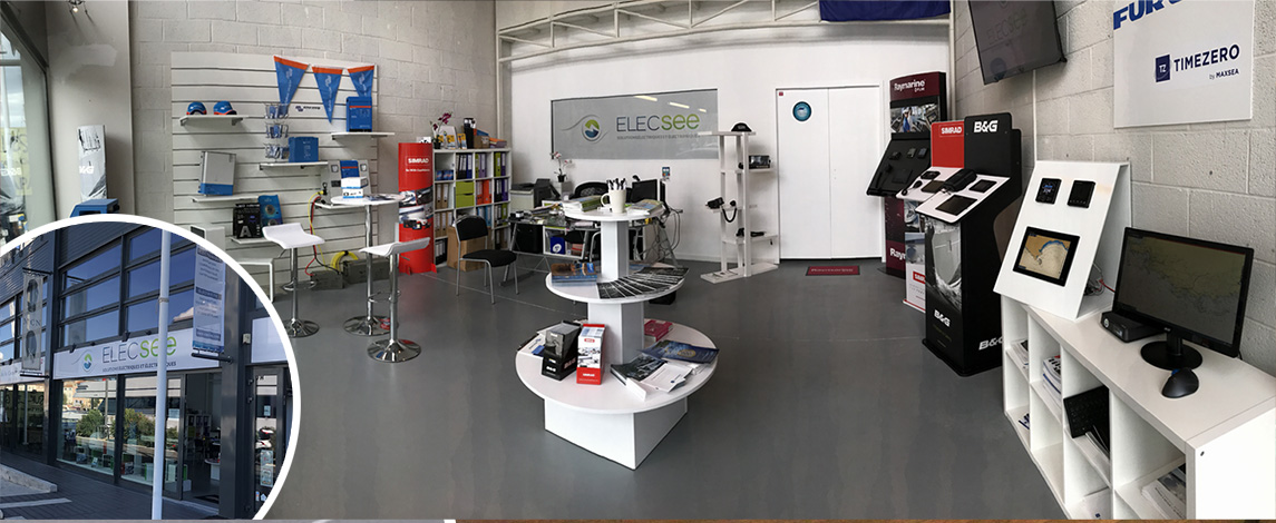 Boutique Elecsee et son showroom