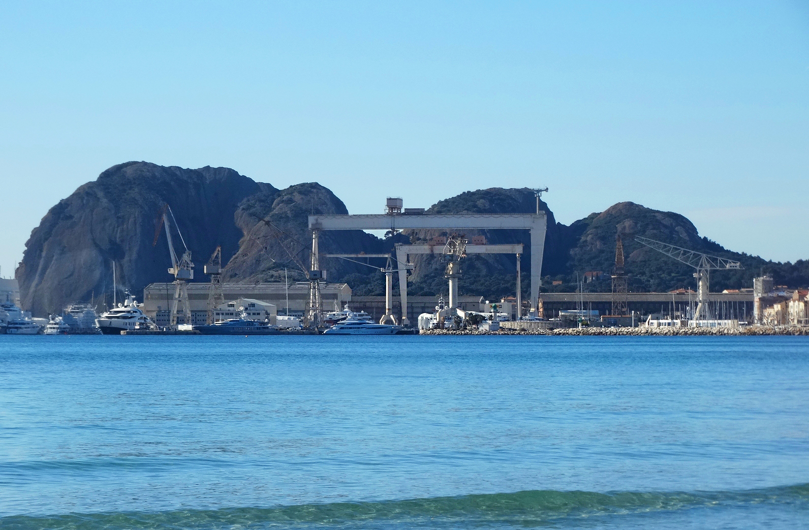 chantier naval la Ciotat